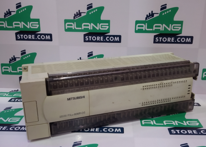 MITSUBISHI  FX2N-80MR-DS  PLC