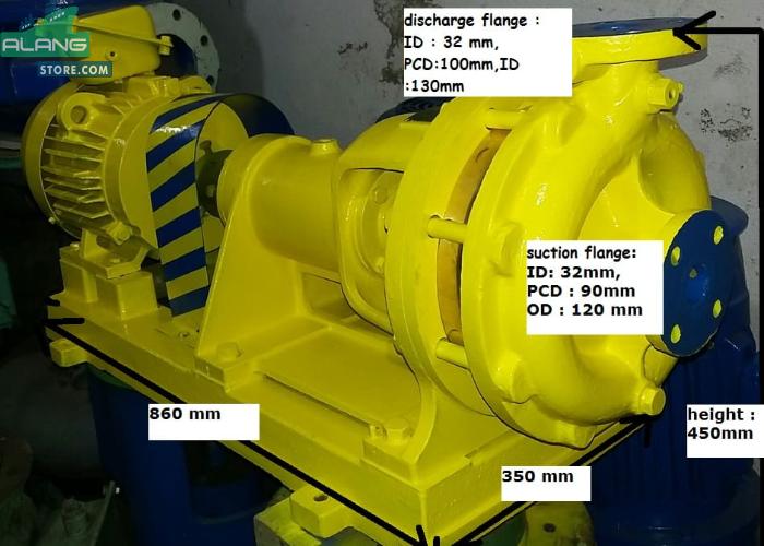 Naniwa EB 2H.32  Centrifugal Pumps
