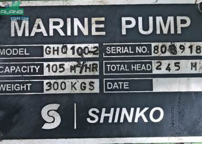 Shinko 100 - 2  Centrifugal Pumps