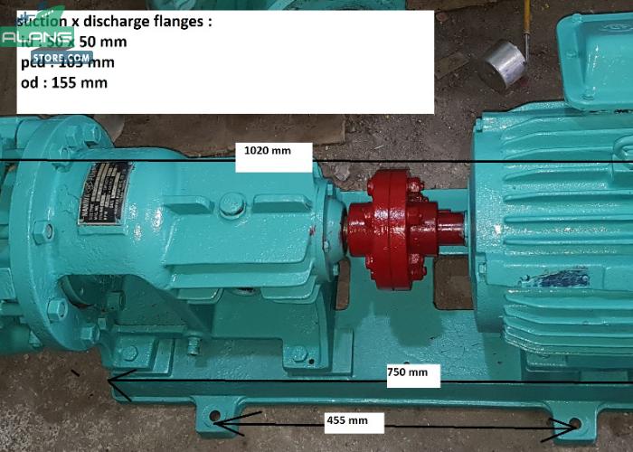 Naniwa BBH - 500  Centrifugal Pumps