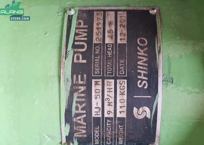 Shinko HJ - 50m  Centrifugal Pumps