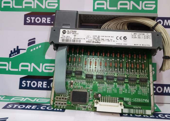 ALLEN-BRADLEY  1746-IB32 SER-D  POINT INPUT CARD SLC 500 INPUT MODULE