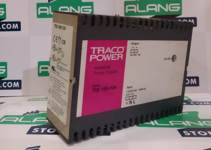 TRACO  TIS 150-124 DIN RAIL PANEL MOUNT 6A POWER SUPPLY
