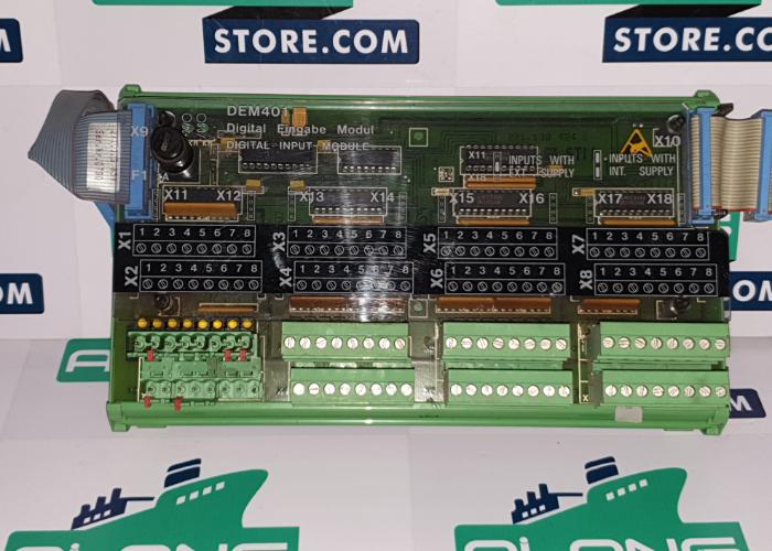 STN ATLAS ELECTRONIC ZDM 401 LYNGSOE MARINE ZENTRAL DIGITAL MODULE
