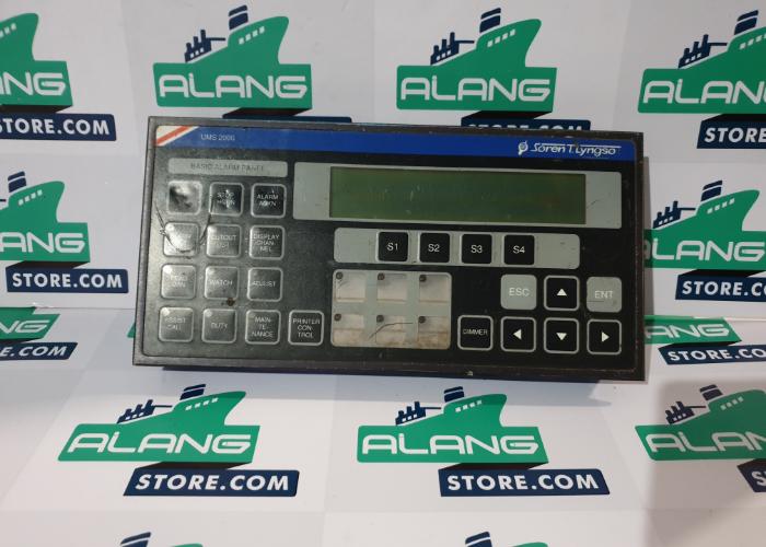 STN ATLAS ELECTRONIC UMS 2000 LYNGSOE MARINE BASIC ALARM PANEL