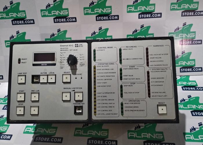 STN ATLAS ELECTRONIC GEMOT 90C LYNGSOE MARINE SYSTEM