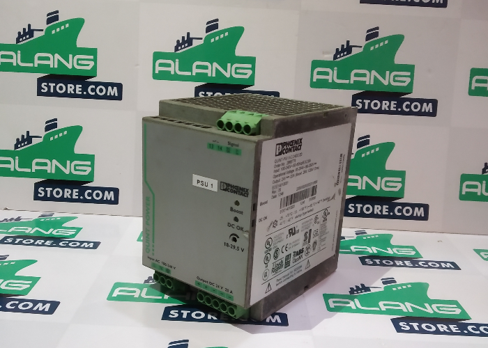 PHOENIX  PS/1AC/24DC/20 INPUT AC 100-240V OUTPUT DC 24V 20A PHOENIX CONTACT POWER SUPPLY