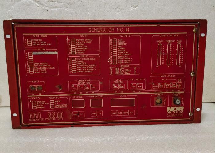NOR CONTROL  GCU 8800  CONTROL