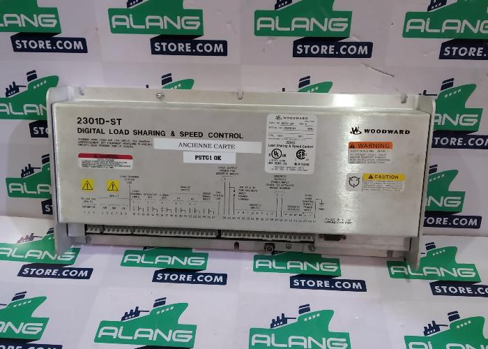 WOODWARD 8273-128 2301D-ST DIGITAL LOAD SHARING & SPEED CONTROL