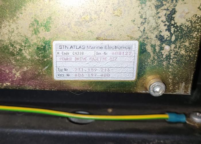 STN ATLAS ELECTRONIC 271.159 216 POWER DRIVE CASETTE 827 CPU