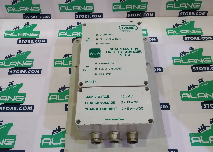 LADAC 4041-2 DUAL STAND-BY  BATTERY CHARGER