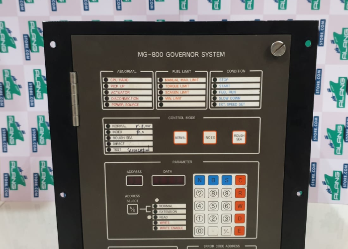 NABCO MG 800 GOVERNOR SYSTEM  MCG CONTROL UNIT