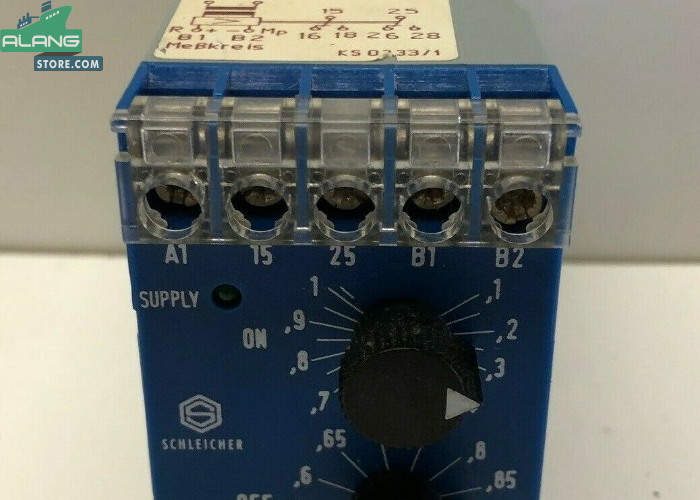 Schleicher SXT12 Current Relay ENGINE CONTROL AND ALARM SYSTEM