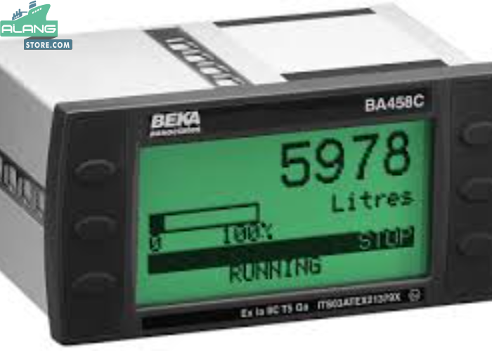 Beka BA458CFlow Batch Controller Flow Batch Controller ENGINE CONTROL AND ALARM SYSTEM