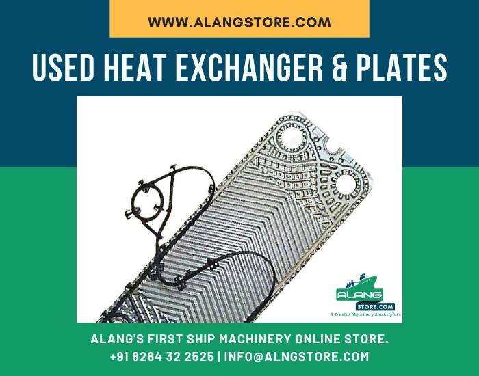 MARINE HEAT EXCHANGER Ship machinery- Alang Store